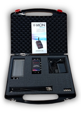 Vibration monitoring V-MON 4000 - product case