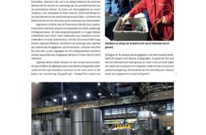 "Smart Maintenance and NexoDAQ in ""Aandrijftechniek"" Dutch magazine"